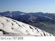 Купить «Горы», фото № 97609, снято 30 декабря 2006 г. (c) Чеботарев Григорий Владимирович / Фотобанк Лори