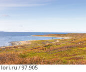 Купить «Баренцево море», фото № 97905, снято 22 сентября 2007 г. (c) Мирзоянц Андрей / Фотобанк Лори