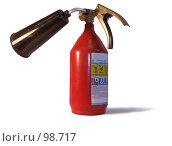 Купить «Огнетушитель углекислотный ОУ-1-ВСЕ», фото № 98717, снято 12 октября 2007 г. (c) Яков Филимонов / Фотобанк Лори