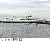 Купить «Прогулочный катер», фото № 100221, снято 13 сентября 2007 г. (c) Нетичук Александр / Фотобанк Лори