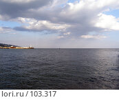 Купить «Морской пейзаж», фото № 103317, снято 21 февраля 2019 г. (c) Елена Руденко / Фотобанк Лори