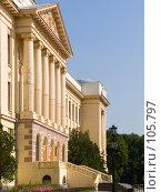 Главный корпус Новочеркасского политехнического института (2006 год). Стоковое фото, фотограф Борис Панасюк / Фотобанк Лори