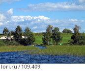 Купить «Кижи, деревня», фото № 109409, снято 19 августа 2007 г. (c) Ярослава Синицына / Фотобанк Лори