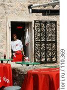 Купить «Современные торговые марки в Старом городе Будва, Черногория», фото № 110369, снято 26 августа 2007 г. (c) Fro / Фотобанк Лори
