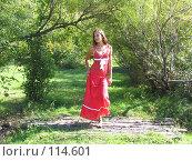 Девушка в сказочном лесу. Стоковое фото, фотограф A.Козырева / Фотобанк Лори