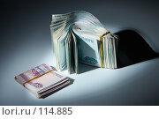 Купить «Пачка денег : теневые доходы», фото № 114885, снято 12 сентября 2007 г. (c) Ирина Мойсеева / Фотобанк Лори