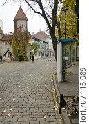 Купить «Улица старого Таллина», фото № 115089, снято 25 мая 2018 г. (c) Игорь Соколов / Фотобанк Лори
