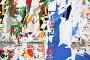 Текстура, стена с обрывками плакатов. Texture, Wall with Scrap of the Posters, фото № 115617, снято 21 июня 2007 г. (c) Astroid / Фотобанк Лори