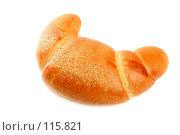 Купить «Сладкий рогалик с кунжутом», фото № 115821, снято 18 сентября 2007 г. (c) Александр Паррус / Фотобанк Лори