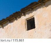 Купить «Фрагмент реконструкции древнего жилища в Танаисе», фото № 115861, снято 22 февраля 2007 г. (c) Борис Панасюк / Фотобанк Лори