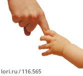 Купить «Руки матери и ребёнка», фото № 116565, снято 15 декабря 2005 г. (c) Losevsky Pavel / Фотобанк Лори