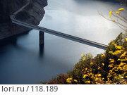 Купить «Черногория, Плужинское водохранилище, мост», фото № 118189, снято 29 сентября 2007 г. (c) Ирина Крамарская / Фотобанк Лори