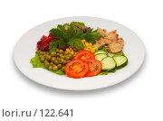 Купить «Смешанный салат», фото № 122641, снято 23 октября 2006 г. (c) Сергей Старуш / Фотобанк Лори