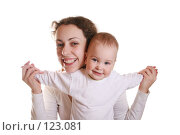 Купить «Мать с ребенком», фото № 123081, снято 15 марта 2006 г. (c) Losevsky Pavel / Фотобанк Лори