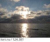 Купить «Финский залив вечер зима», фото № 124381, снято 17 ноября 2007 г. (c) Алексей / Фотобанк Лори