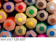 Купить «Фон из цветных карандашей», фото № 126637, снято 7 августа 2007 г. (c) Валерия Потапова / Фотобанк Лори
