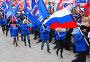 Митинг в поддержку «Единой России», Астрахань, 24 ноября, фото № 126677, снято 24 ноября 2007 г. (c) Игорь Муртазин / Фотобанк Лори