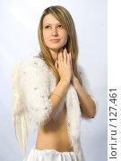 Купить «Портрет печального ангела», фото № 127461, снято 21 октября 2007 г. (c) Евгений Батраков / Фотобанк Лори
