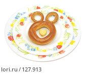 Купить «Вкусный медвежонок», фото № 127913, снято 18 ноября 2007 г. (c) Анатолий Теребенин / Фотобанк Лори