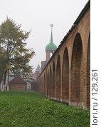 Купить «Стены кремля», фото № 129261, снято 13 октября 2007 г. (c) Смирнова Лидия / Фотобанк Лори