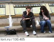 Купить «Друзья на Манежной площади. Москва.», эксклюзивное фото № 130405, снято 3 июня 2005 г. (c) Ирина Мойсеева / Фотобанк Лори
