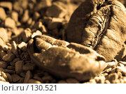 Кофе в зернах и растворимый кофе. Стоковое фото, фотограф Влада Посадская / Фотобанк Лори