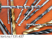 Сверла для дрели. Стоковое фото, фотограф Александр Паррус / Фотобанк Лори