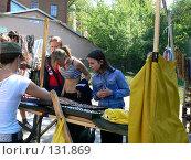 Купить «Торговля на Андреевском Спуске. Киев.», фото № 131869, снято 15 мая 2007 г. (c) Тютькало Игорь / Фотобанк Лори