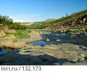 Купить «Горная река», фото № 132173, снято 18 июля 2004 г. (c) Serg Zastavkin / Фотобанк Лори
