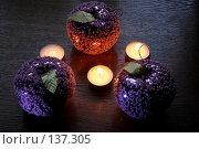 Купить «Стеклянные яблоки», фото № 137305, снято 4 декабря 2007 г. (c) Parmenov Pavel / Фотобанк Лори