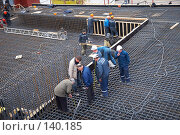Купить «Строительство  площадки пешеходного Патриаршего моста», эксклюзивное фото № 140185, снято 31 марта 2007 г. (c) Ирина Мойсеева / Фотобанк Лори