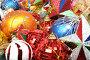Разноцветные рождественские украшения, фото № 146937, снято 20 декабря 2006 г. (c) Александр Паррус / Фотобанк Лори