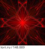 Купить «Яркий красный фон», иллюстрация № 148889 (c) Ольга Сапегина / Фотобанк Лори