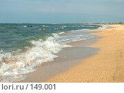Купить «Пляж близ Голубицкой (Азовское море)», фото № 149001, снято 9 августа 2007 г. (c) Петухов Геннадий / Фотобанк Лори