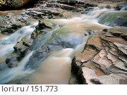 Купить «Река Руфабго. Кавказский заповедник», фото № 151773, снято 10 августа 2007 г. (c) Петухов Геннадий / Фотобанк Лори