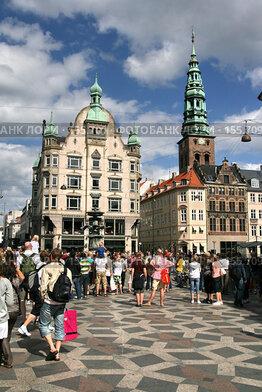 Купить «Дания. Копенгаген. Городской пейзаж», фото № 155709, снято 19 июля 2007 г. (c) Александр Секретарев / Фотобанк Лори