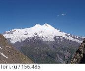 Купить «Эльбрус.Вид с горы Чегет.», фото № 156485, снято 1 августа 2006 г. (c) Игорь Сидоренко / Фотобанк Лори