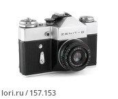 Советский фотоаппарат ZENIT-B (2007 год). Редакционное фото, фотограф Евгений Захаров / Фотобанк Лори