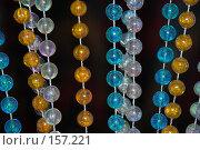 Купить «Бусины праздничные», фото № 157221, снято 22 декабря 2007 г. (c) Елена Бринюк / Фотобанк Лори