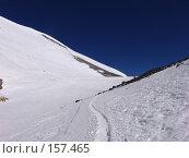 Купить «Между двух вершин Эльбруса», фото № 157465, снято 5 августа 2006 г. (c) Игорь Сидоренко / Фотобанк Лори