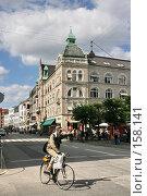 Купить «Дания. Копенгаген. Городской пейзаж», фото № 158141, снято 19 июля 2007 г. (c) Александр Секретарев / Фотобанк Лори
