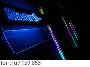 Купить «Реклама сигарет в ночном клубе», фото № 159853, снято 4 февраля 2006 г. (c) Harry / Фотобанк Лори