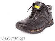 Купить «Мужские черные зимние ботинки», фото № 161001, снято 26 ноября 2006 г. (c) Александр Паррус / Фотобанк Лори