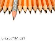 Купить «Набор чертежных карандашей», фото № 161021, снято 9 октября 2006 г. (c) Александр Паррус / Фотобанк Лори