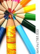 Купить «Набор карандашей на белом фоне», фото № 161033, снято 9 октября 2006 г. (c) Александр Паррус / Фотобанк Лори