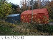 Купить «Гаражи», фото № 161493, снято 27 октября 2007 г. (c) АЛЕКСАНДР МИХЕИЧЕВ / Фотобанк Лори