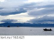 Купить «Камчатка. Корабли в Авачинской бухте.», фото № 163621, снято 30 июля 2007 г. (c) Николай Коржов / Фотобанк Лори
