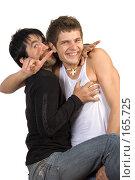 Купить «Два друга», фото № 165725, снято 22 мая 2007 г. (c) Вадим Пономаренко / Фотобанк Лори