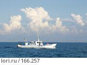 Купить «Облако и кораблик», фото № 166257, снято 10 сентября 2007 г. (c) Елена Каминер / Фотобанк Лори