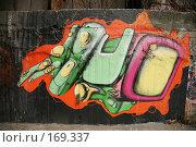Купить «Граффити... Киев, Украина.», фото № 169337, снято 3 января 2008 г. (c) Игорь Веснинов / Фотобанк Лори